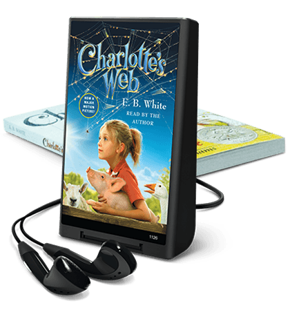 Charlotte's Web on Playaway Bookpacks